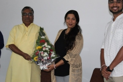 AN INTERVIEW WITH MS.PARINEETA DANDEKAR- ON THE OCCASION OF THE WORLD WATER DAY (ONLINE) 23RD MARCH 2021.