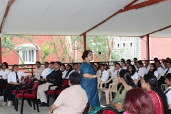 GUEST LECTURE ON POSITIVE MENTAL HEALTH BY DR.KALPANA SHRIVASTAVA (03.09.2019)