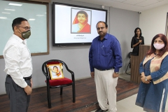 ON10TH MARCH 2021 A PROGRAMME WAS ORGANISED TO COMMEMORATE THE DEATH ANNIVERSARY OF ACADEMICIAN AND SOCIAL REFORMER KRANTIJYOTI SAVITRIBAI PHULE.
