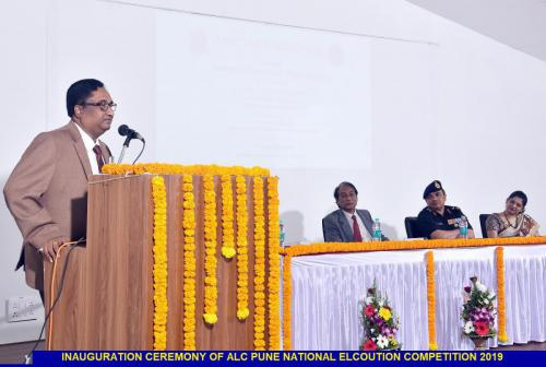 Inauguration Ceremony of ALC Pune National Elocution Competition 2019